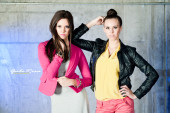 twins fashion garage modeling galerisa photography