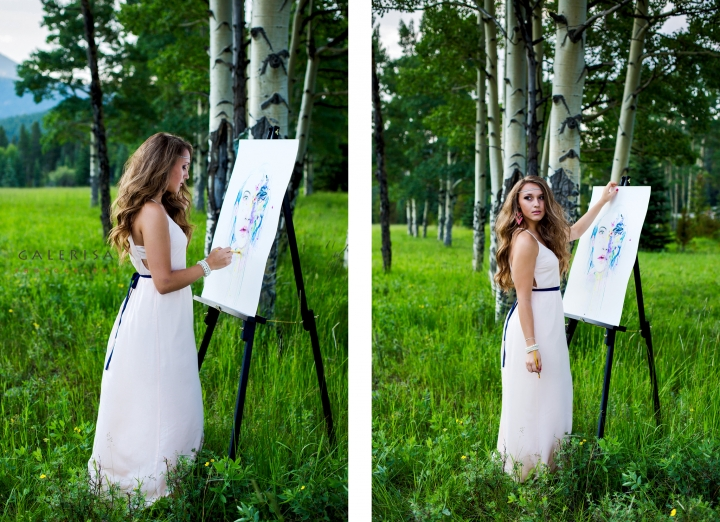 GaleRisa-Photography,-Karolina-Kolesnikov-Portraits-in-the-mountains,-painting