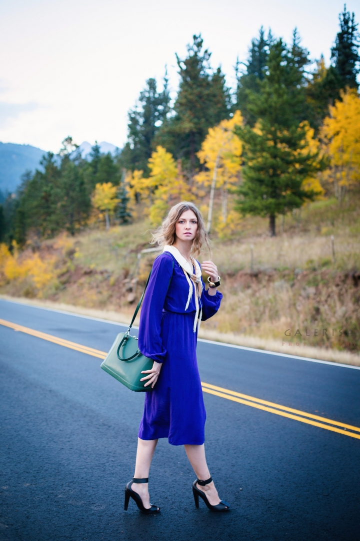 Blue-dress-in-autumn-fall-season-with-Galerisa-photography